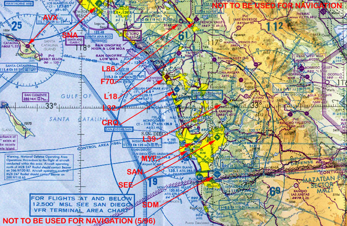 PilotAge Airports Of Southern California - Airports in california